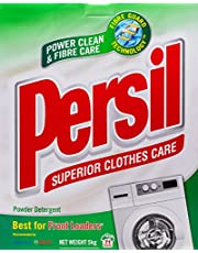 Persil Fibre Intelligent Low Suds Powder Detergent, Regular, 5kg