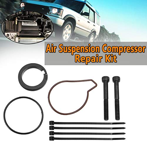 Cacys-Store - A Set Air Suspension Compressor Repair Kit For Land Rover Range Rover Discovery II 2 98-04 MK3 L322 02-05 Shock Absorber Parts