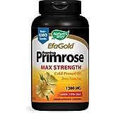 Nature's Way Evening Primrose, Efa Gold Cold Pressed Oil 1300mg, 120 Softgels