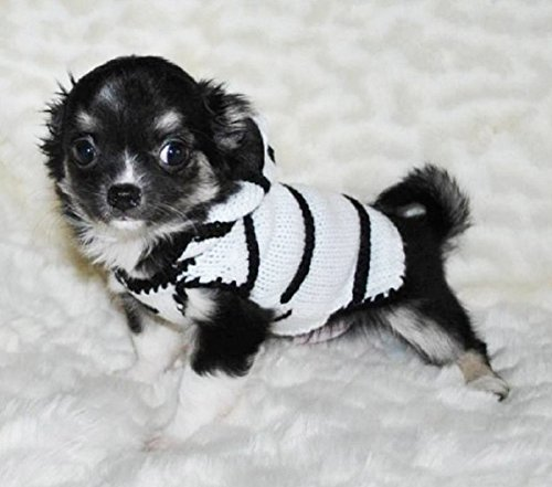 ADogFashion Zebra Dog Costume Dog Sweater Puppy Clothing Pet Clothes Coat Hoodie – Different