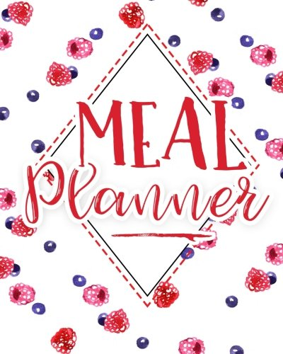 Meal Planner: Notebook with Grocery List and Notes Section: Weekly Meal Planning Journal