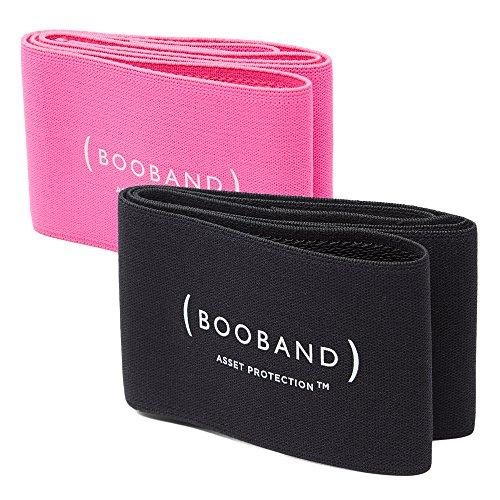 Alternativa Booband Da Regolabile 2 Sportivo Confezione Fascia Nero Al Donna Seno Reggiseno E Rosa rSXrwaq