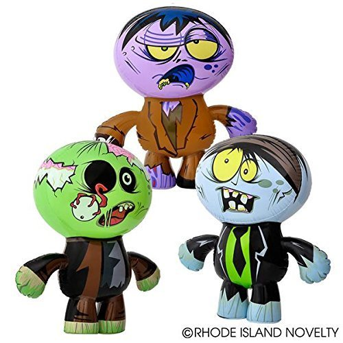 5Star-TD Set of 3 Crazy Inflatable Zombies (24