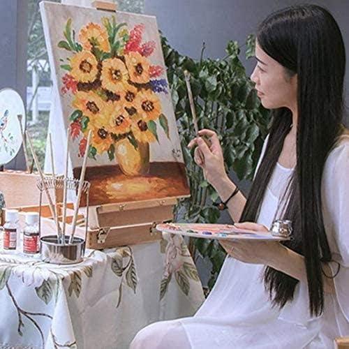 pour Peinture /à lhuile Acrylique A//N Toiles Vierges Toiles Tendues Cadres Toiles Tendues Extra Large 16 x 19 Pouces 40 cm x 50 cm
