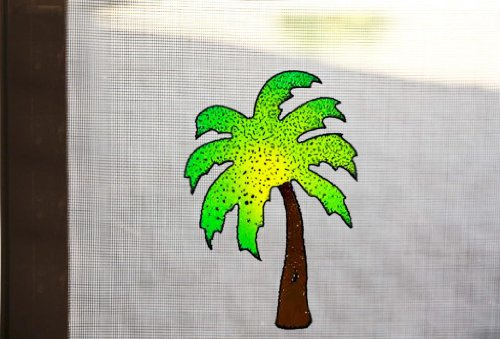 Screen Magnets (Palm Tree Magnetic Screen magnet)
