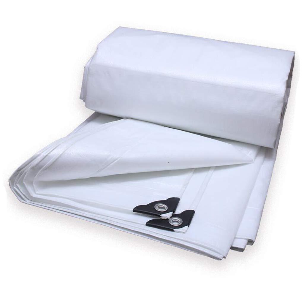 Plane PENGJUN Tarps Wasserdichtes Anti-Alternzelt-Tuch regendichter Schattenweiß 0.35mm -180g   m2 Es ist weit verbreitet
