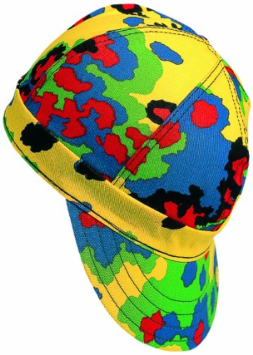 (Mutual Industries 00340-00000-0725 Kromer Multi Camo Style Welder Cap 7 1/ 4, Cotton, Length 5
