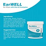 VetWELL Dog Ear Wipes - Otic Cleaning Wipes for Infections and Controlling Yeast, Mites and Odor in Pets - EarWELL 100 Count 7