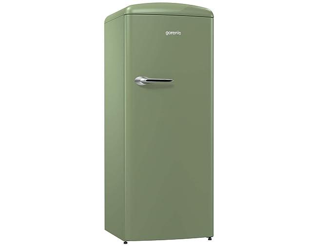 Gorenje Kühlschrank Modellnummer : Gorenje orb153ol kühlschrank grün: amazon.de: elektro großgeräte