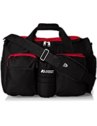 unisex-adult Gym Bag With Wet Pocket ,Red, One Size