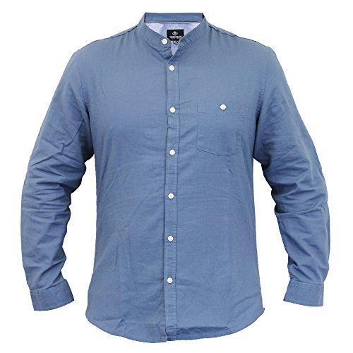 Threadbare - Camisa casual - camisa - Manga Larga - para hombre Dark Blue - KMV071PKB
