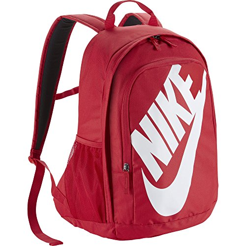 - Nike Sportswear Hayward Futura Backpack for Men, Large Backpack with Durable Polyester Shell and Padded Shoulder Straps, University Red/University Red