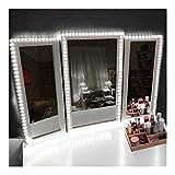 corner makeup vanity table with lighted mirror 13ft LED Vanity Mirror Lights Kit Make-up Mirror Light Strip for Vanity Dressing