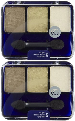 CoverGirl Eye Enhancers 3 Kit Eye Shadow, Sea Glass 120 .17 oz (4.8 g)