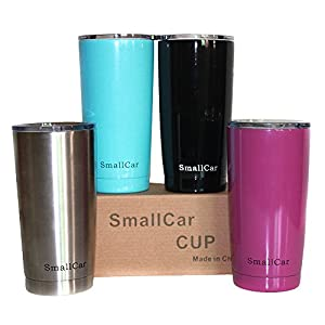 Amazon Com Smallcar 20 Oz Stainless Steel Tumbler With