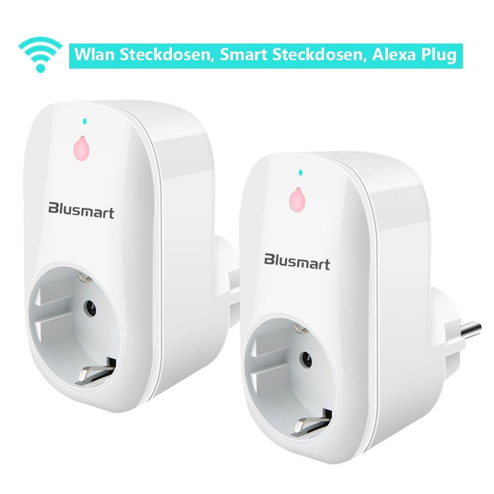 Wlan Steckdosen Smart Steckdosen funktioniert Amazon Alexa Plug 2 ...