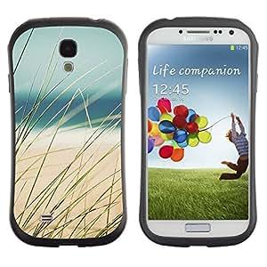 "Pulsar iFace Series Tpu silicona Carcasa Funda Case para SAMSUNG Galaxy S4 IV / i9500 / i9515 / i9505G / SGH-i337 , Sand Sun Ocean Sea Beach"""