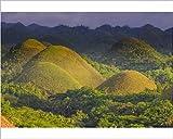 Photographic Print of Chocolate Hills, Bohol, Philippines