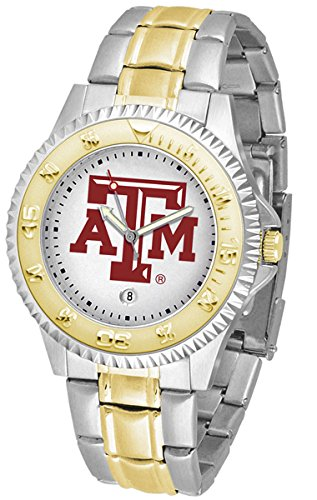 (Texas A&M Aggies Competitor Two-Tone Men's Watch)