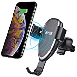 CHOETECH Wireless Car Charger, Fast Gravity Wireless Car Charger Holder 7.5W Compatible with iPhone XR/XS/XS Max/X/8/8 Plus,10W for Galaxy Note 9/S9/S9+,S8/S8+/Note 8, 5W for Huawei Mate 20 pro