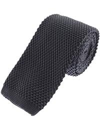 Solid Skinny Knit Tie