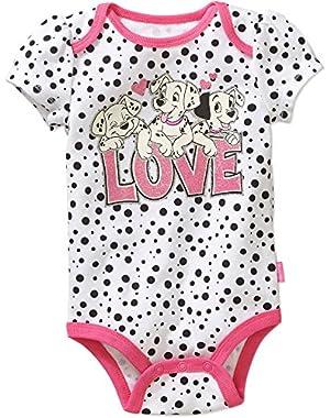 101 Dalmatians LOVE Baby Girls Bodysuit Dress Up Outfit