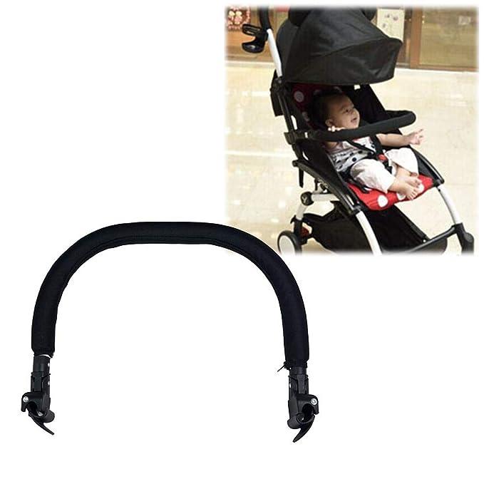 longrep Stroller Armrest Cover Pushchair Bar Cover Universal Adjustable Armrests Cover For YOYO YOYA VOVO