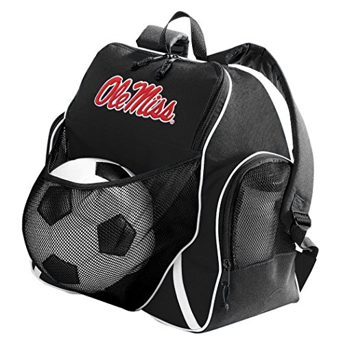 Ole Miss Ball Backpack University of Mississippi Soccer Volleyball Bags