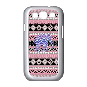 WJHSSB Phone Case Elephant Aztec Tribal Hard Back Case Cover For Samsung Galaxy S3 I9300