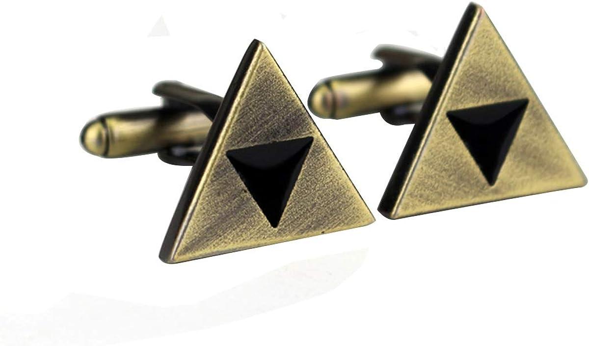 LYXPUAH Accesorios del Juego The Legend of Zelda Forma Gemelos Gemelos Shield: Amazon.es: Joyería