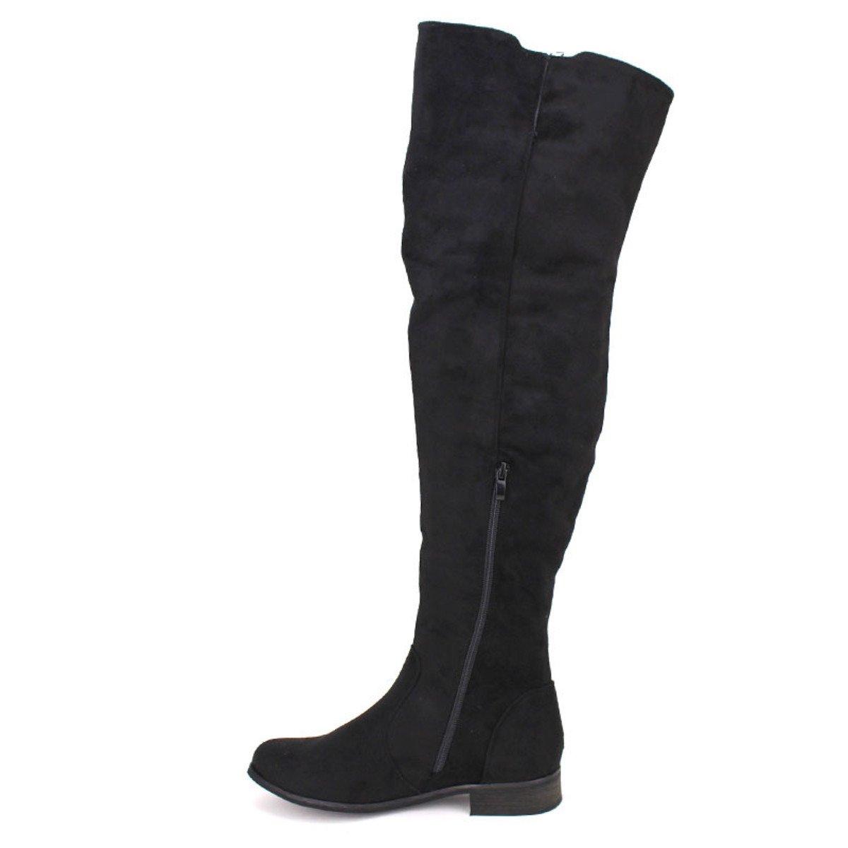 Chaussures Noire Cuissarde Cendriyon Moda Lexy Cq6nxOwH