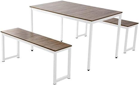 ZhengFei - Juego de mesa de comedor con sillas de madera para ...