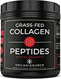Cheap Pure Collagen Peptides Powder by Organisource (16 Ounces) Unflavored | Grass-Fed, Pasture-Raised Hydrolyzed Protein Supplement | Paleo and Keto Friendly | Gluten-Free, Non-GMO