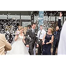 Heart Shaped Biodegradable Wedding Confetti - 10,000 pieces. Product of The USA.