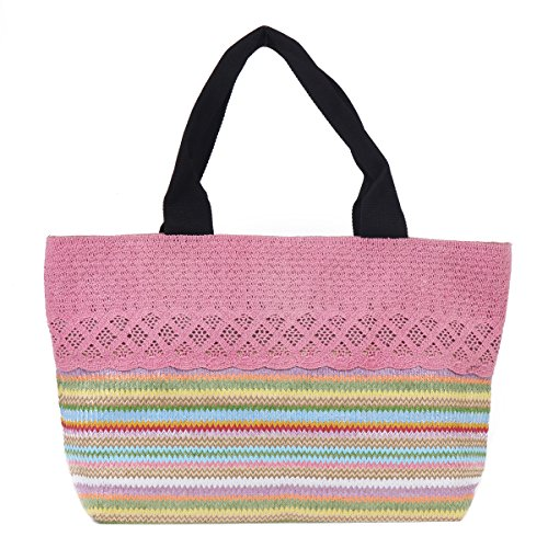 Handbags Damara String Knitted Tote Bohemia Damara Rose String 8za7wx6