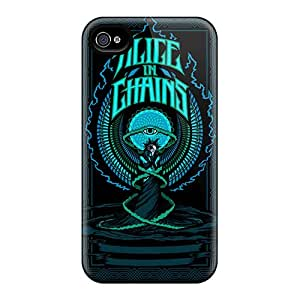 AlissaDubois Iphone 6plus Shock-Absorbing Hard Phone Cover Custom Lifelike Alice In Chains Pictures [TgW2112YFgG]