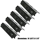 6 burners gas grill - Edgemaster Replacement 5 PK Grill Heat Plate For Charbroil 6 Burner Gas Grill
