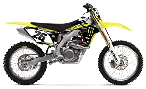 Factory Effex 16-12422 Monster Energy Shroud/Airbox Graphic Kit for Suzuki RM-Z250