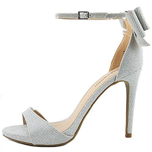 slvfx Toe ZIGI Ankle Strap orsay SOHO Pumps Silver D Remi Womens Open PwwIpRnqH