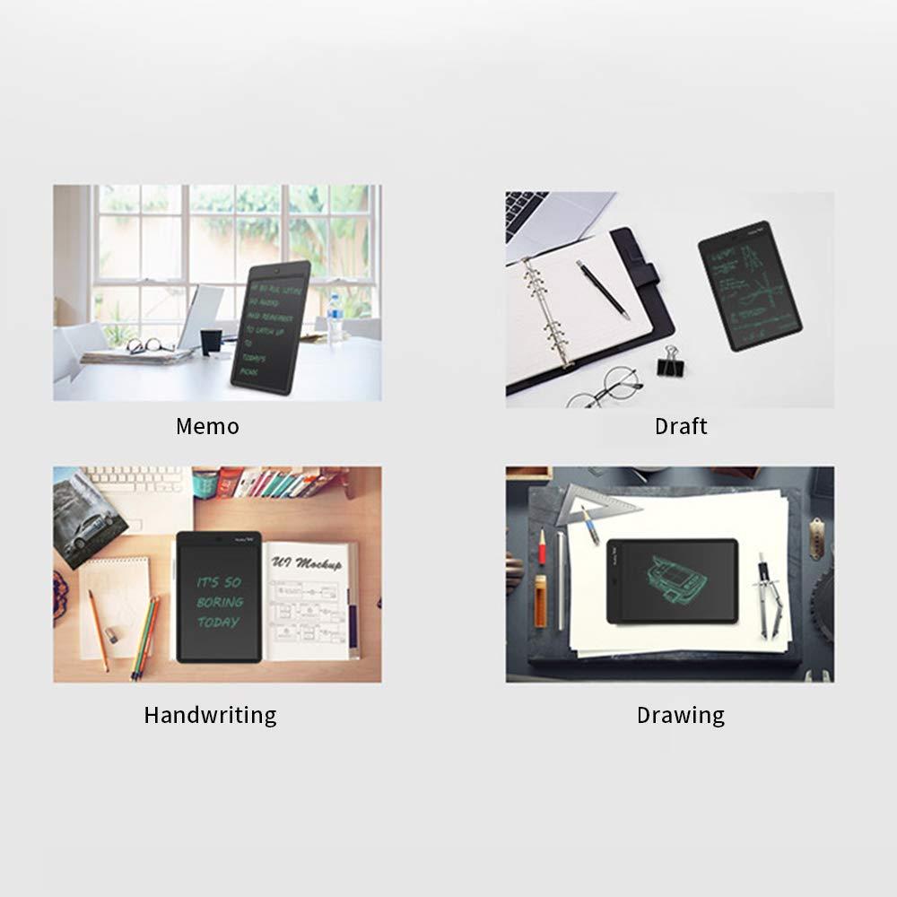 Docooler LCD Writing Tablet 12Dibujo y Escritura electr/ónicos Doodle Board Memo Escritura en Papel Tableta de Dibujo Regalos para ni/ños peque/ños y Adultos en la Oficina Escolar en casa