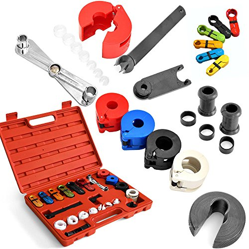 - Disconnect Tool Kit for Automotive AC Fuel Line and Transmission Oil Cooler Line Disconnect Tool Ket Compatible with automotive Models - 22pcs