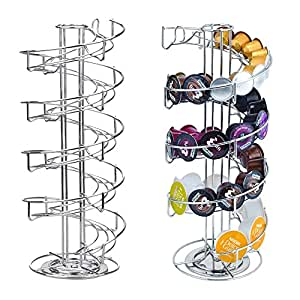 Coffee Pod Holder Spiral Staircase Shape Rust Resistant Coffee Pod Rack