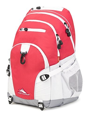 High Sierra Loop Backpack, Paradise Pink/White/Ash [並行輸入品] B07DVPSVV8