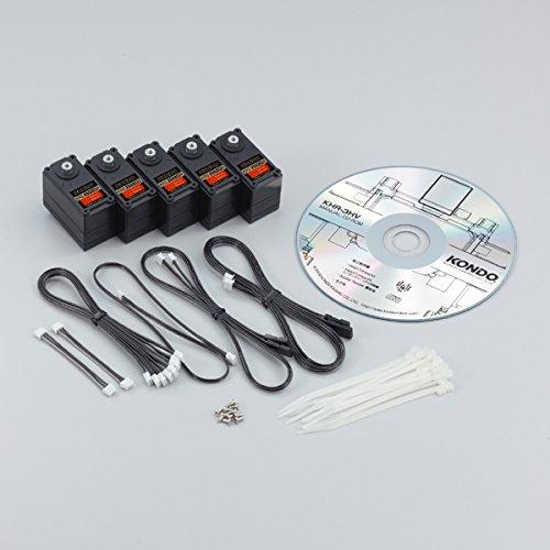 二足歩行ロボット用拡張オプション[KHR-3HV拡張用サーボ5個セット Ver.2] B074FT1BTR