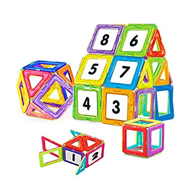 Nextx Blocchi Magnetici Giocattolo Set Di 24 Pezzi Per Costruzioni 3d Puzzle Educativo Per Piccoli Ingegneri Regalo Perfetto Per Bambini 3 Anni