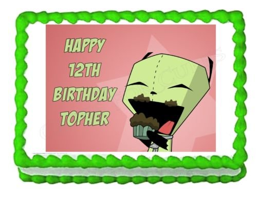 Review INVADER ZIM GIR party