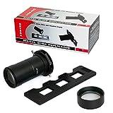 Opteka HD2 Professional Digital Camera / DSLR 35mm Slide Copier Duplicator for Sony Alpha NEX-6 NEX-7 NEX-3N NEX-5T NEX-5R - Includes Bonus 10X Macro Close Up Lens