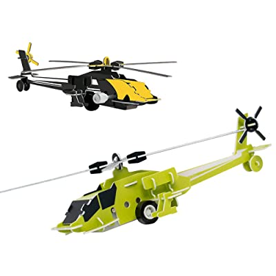 Protocol Speed Chopper 3D Wind-Up Puzzles (5872-2BDHD): Toys & Games