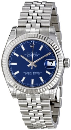 Rolex Datejust Blue Dial Price