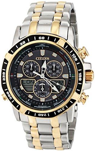 - Citizen Eco-Drive Men's JR4054-56E Sailhawk Two-Tone Stainless Steel Watch